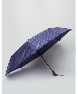 Fulton | Open Close Umbrella Navy Check
