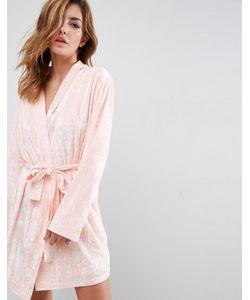 ASOS | Crushed Velvet Mini Robe