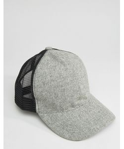 7X   And Trucker Hat With Curved Peak
