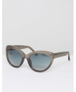 Markus Lupfer | Glitter Sunglasses With Teal Gradient Lens
