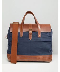 Timberland | Leather Trim Briefcase