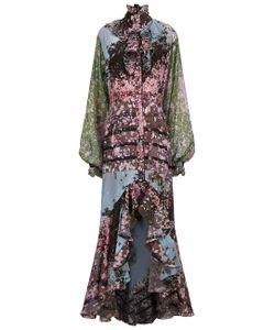 Natasha Zinko | Printed Victorian Ruffle Dress