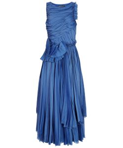 Rochas | Bright Textural Sleeveless Dress