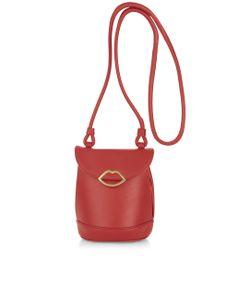 Lulu Guinness   Leather Joanna Cross Body Bag