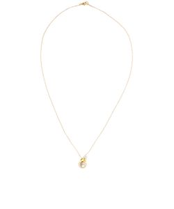 Leivankash | Yellow Ojo Pendant Necklace
