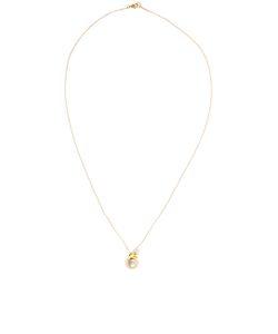 Leivankash | Yellow Ojo Pendant Necklace