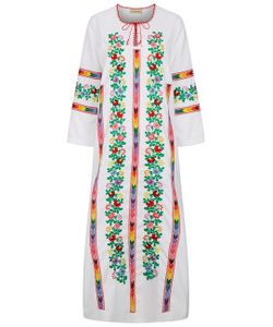 Muzungu Sisters | Cotton Embroidered Jasmine Dress