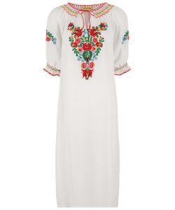 Muzungu Sisters | Floral Embroidered Eva Dress
