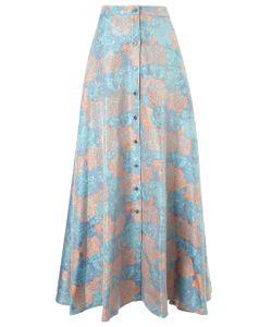 Alexander Lewis | Floral Silk Jacquard Soledad Skirt