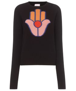 Alexander Lewis | Hamsa Hand Motif Sweater To Be Reshot On 10/05/15