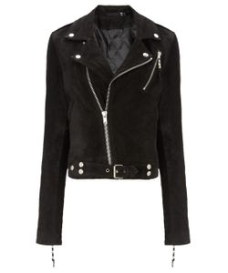 Blk Dnm | Suede Cropped Jacket 1