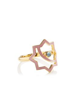 Leivankash | Gold Enamel Kasha Ring