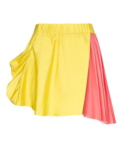 Thomas Tait | Pink Silk Pleated Skirt