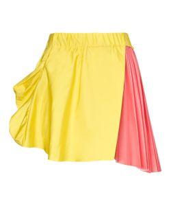 Thomas Tait | Pink Silk Pleated Skirt