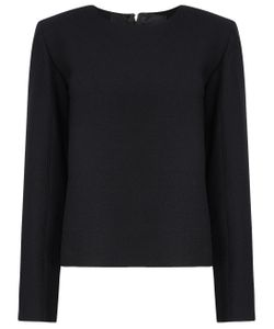 Thomas Tait | Wool Long Sleeve Top