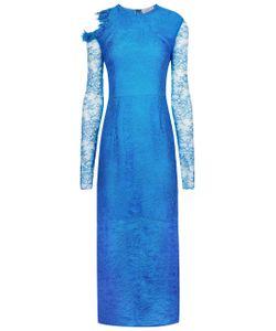Preen by Thornton Bregazzi | Blue Lace Amilna Long Dress