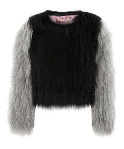 Charlotte Simone | Grey Mongolian Lambswool Classic Jacket