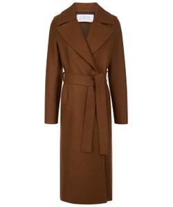 Harris Wharf | Biscuit Wool Boxy Duster Coat