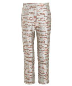 Alexander Lewis | Silver Birch Brocade Galena Trousers