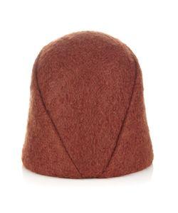 Alexander Lewis | Rust Mohair Folded Coan Hat