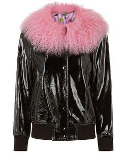 Charlotte Simone | Leather Va-Va Varsity Jacket