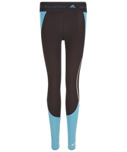 Adidas by Stella McCartney | Black Contrast Panel Running Tights