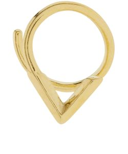 Maria Black | Check Twirl Right Earring