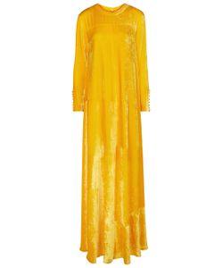 Arthur Arbesser | Velvet Long Sleeve Gown