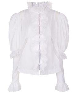 Natasha Zinko | Cotton Voile Ruffle Shirt