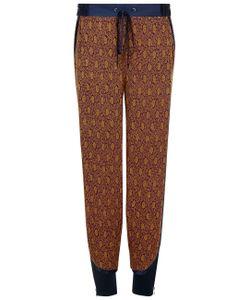 3.1 Phillip Lim | Dark Magenta Pyjama Joggers