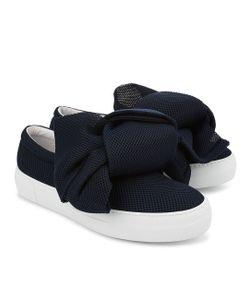 Joshua Sanders | Neoprene Bow Slip-On Sneakers