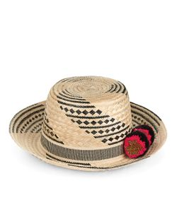 Yosuzi | Black Siruma Straw Hat