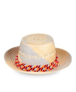 Yosuzi | Orange Maïa Straw Hat