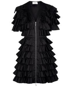 Isa Arfen | All-Over Ruffle Mini Dress