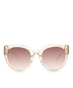 Linda Farrow | Truffle Oversized Square Sunglasses