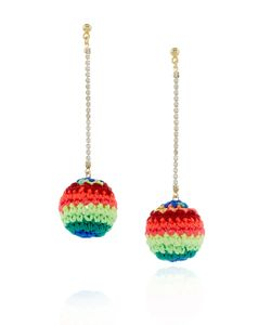 Venessa Arizaga | Neon Rainbow Road Earrings