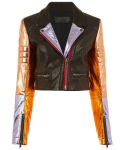 Haider Ackermann   Panel Sleeve Biker Jacket