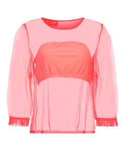 Paskal | Neon Sheer Tulle Top