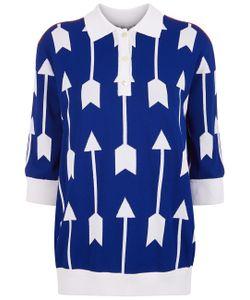 Arthur Arbesser | Signature Arrows Polo Shirt
