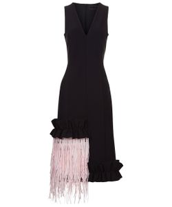 Paskal | Fringed Panel Dress