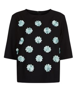 Paskal | Mint 3-D Flower T-Shirt