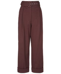 Isa Arfen | Cocoa Safari Tapered Trousers