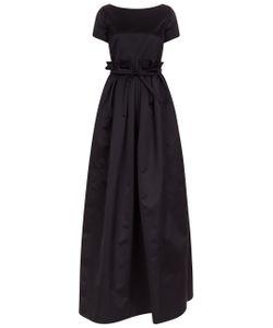 Rochas | Satin Full Skirt Duchesse Gown