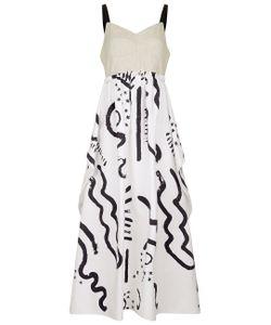 Isa Arfen | Combo Handkerchief Bustier Dress