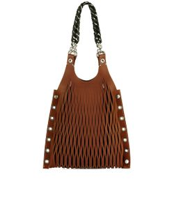 Sonia Rykiel | Camel Le Baltard Lattice Tote Bag