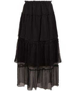 Sonia Rykiel | Chiffon Ruffle Tier Skirt