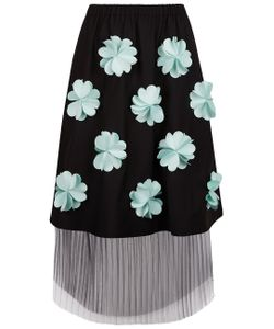 Paskal | Mint 3-D Flower Skirt
