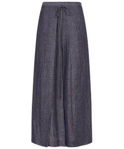 Rosetta Getty | Indigo Wrap Panel Trousers