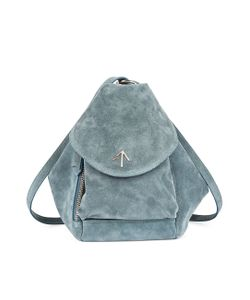 Manu Atelier | Mint Suede Mini Fernweh Backpack