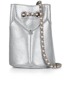 Jérôme Dreyfuss | Argent Popeye Mini Bucket Bag